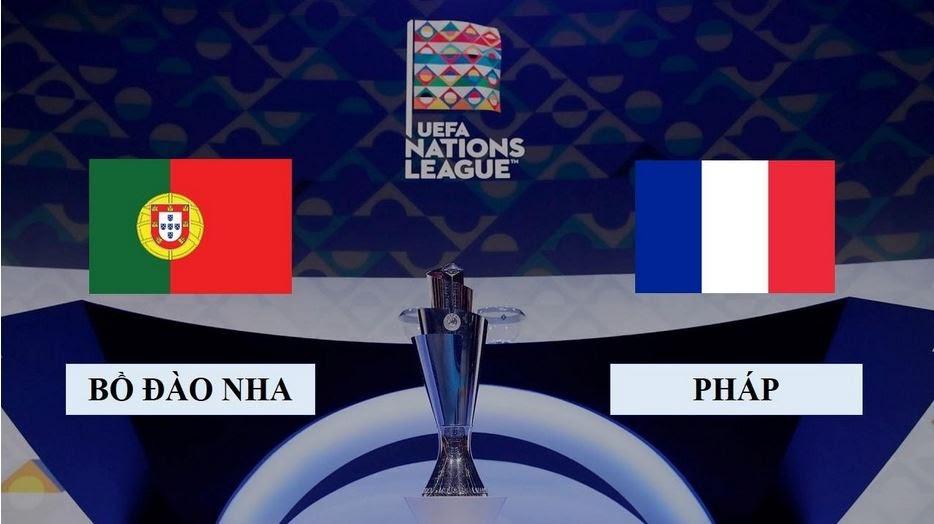 Màn tranh tài giữa hai đội bóng Bồ Đào Nha vs Pháp